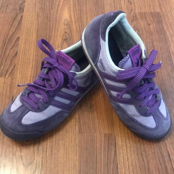 RARE Colorway Adidas Dragon Size 3 1/2 Purple
